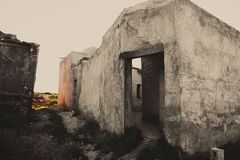 Ruins of ancient house in Iraq Stock Photography