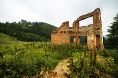 Ruins of an ancient house Stock Photos