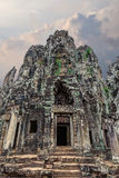 Ruins of the ancient Khmer temple Royalty Free Stock Image