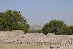 Ruins of an ancient kingdom Royalty Free Stock Photo