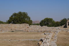 Ruins of an ancient kingdom Royalty Free Stock Photos