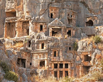 Ruins Ancient Lycia Turkey Stock Photo