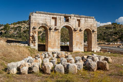 Ruins of the ancient Lycian city Patara Stock Image