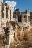 Ruins of the ancient Lycian city Patara Stock Photography