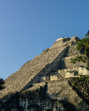 Ruins of the ancient Mayan city of Becan, Mexico Royalty Free Stock Images