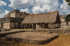 Ruins of the ancient Mayan city of Ek Balam, Mexico Stock Photography