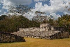 Ruins of the ancient Mayan city of Ek Balam Royalty Free Stock Photos