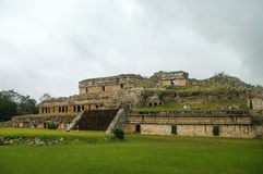 Ruins of the ancient Mayan city of Kabah Stock Photography