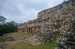 Ruins of the ancient Mayan city of Kabah. Mexico Royalty Free Stock Images