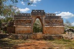 Ruins of the ancient Mayan city of Labna Royalty Free Stock Photo