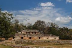 Ruins of the ancient Mayan city of Labna Stock Image