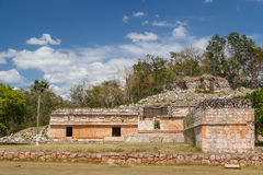 Ruins of the ancient Mayan city of Labna Royalty Free Stock Photography