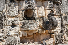 Ruins of the ancient Mayan city of Mayapan Stock Photo