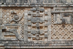Ruins of the ancient Mayan city of Uxmal Stock Photos