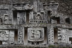 Ruins of the ancient Mayan city Xunantunich royalty free stock images