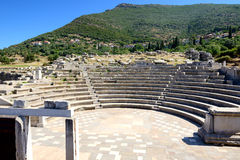 The ruins in ancient Messene (Messinia) Stock Images