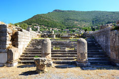 The ruins in ancient Messene (Messinia) Royalty Free Stock Image