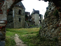 Ruins. Of the ancient monastery Royalty Free Stock Photo
