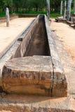 Ruins of a ancient monastery, Anuradhapura, Sri Lanka Royalty Free Stock Photo