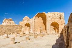 Ruins of the ancient Nabataean Town Shivta Stock Photos
