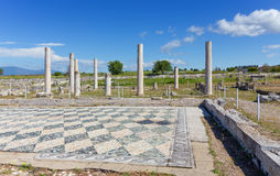 Ruins of ancient Pella, Macedonia, Greece Stock Image