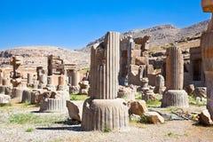 Ruins of ancient Persepolis Iran. Ruins of ancient Persepolis in Iran Royalty Free Stock Images