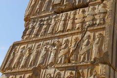 Ruins of ancient Persepolis, Iran. Royalty Free Stock Images
