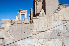 Ruins of ancient Persepolis Royalty Free Stock Images