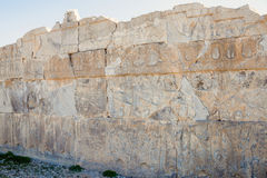 Ruins of ancient Persepolis Royalty Free Stock Image