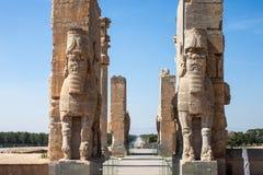 Ruins of ancient Persepolis Royalty Free Stock Photos