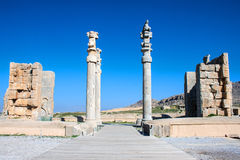 Ruins of ancient Persepolis Royalty Free Stock Photo