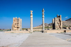 Ruins of ancient Persepolis Royalty Free Stock Photography