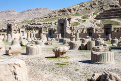 Ruins of ancient Persepolis Stock Photography