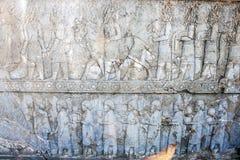 Ruins of ancient Persepolis Stock Photos