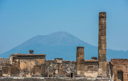 Ruins of ancient Pompeii, Italy Stock Image