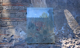 Ruins of Ancient Pompeii. In Italy Royalty Free Stock Image