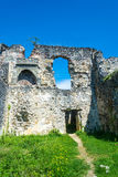 The ruins of the ancient princely Palace in the village of Lykhn Royalty Free Stock Photos