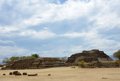Ancient Mayan ruins Royalty Free Stock Images
