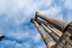 Ruins in ancient Roma Stock Photo