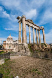 Ruins in ancient Roma Royalty Free Stock Photography