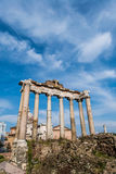 Ruins in ancient Roma Stock Images