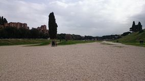 Circus Maximus in Rome, Italy stock photography