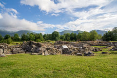 Ruins of ancient Roman city Stock Photos