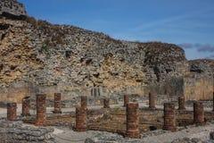 Ruins of ancient roman city Conimbriga stock images