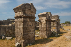 Ruins of the ancient Roman city of Solin (Salona) Stock Image