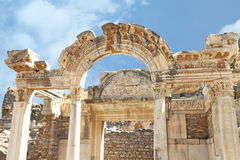 Ruins of the ancient roman city , Turkey. Stock Photography