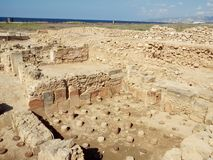 Archeological Site Of Paphos Royalty Free Stock Image