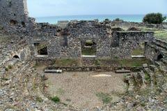 Ruins in Anamurum Stock Photos