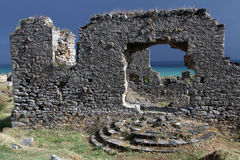 Ruins in Anamurum Stock Image