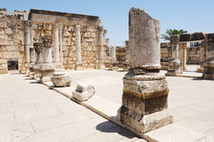 Ruins of ancient Roman temple Royalty Free Stock Photos